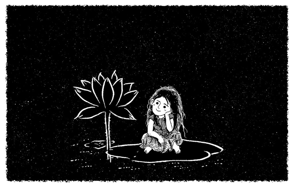 fairy tale, night, flower-1182696.jpg